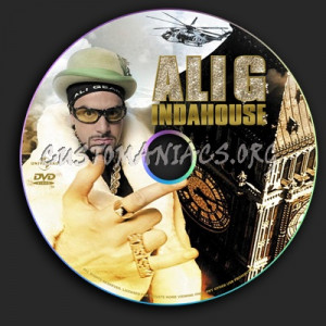 Ali G Indahouse Dvd Label picture