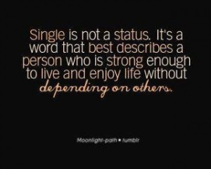 livin' the single life quote
