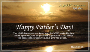 Happy Fathers Day Bible Sayings