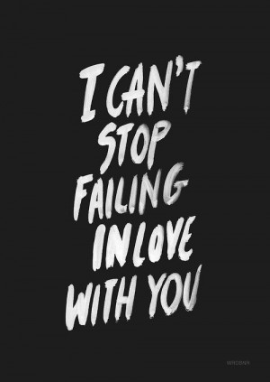 can't stop falling in love with you