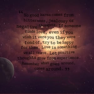 Quotes About Love Karma : Karma Quotes About Love. QuotesGram