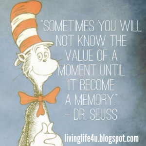 Live YOUR Life!: Dr. Seuss - Day 8