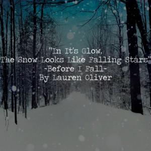 Lauren Oliver, Before I Fall..