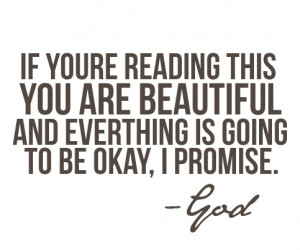 Everything's gonna be OK.