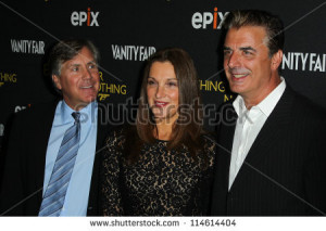 NEW YORK-OCT 3: Mark Greenberg, Barbara Broccoli and Christopher Noth ...
