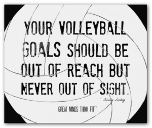 Volleyball Posters With Quotes...