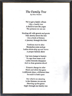 Poems About Family For Kids Poems about family poems about