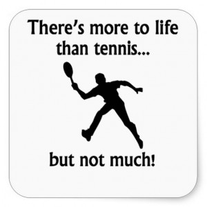 Tennis Quotes Stickers