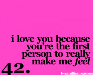 Why I Like You Quotes