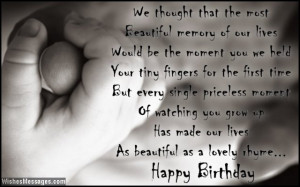 quote for a daughter from her parents Birthday Wishes for Daughter ...