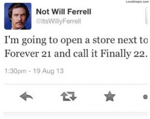 Related Pictures will ferrell twitter funny tweets