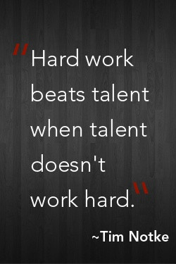 talent vs determination Natural talent vs hard work is a topic that has been debated by people of all professions throughout history it's also known as nature vs nurture , the difference between one's innate ability vs ability affected by personal experiences.