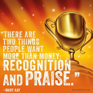 Who doesn't love recognition and praise? #awards #recognition