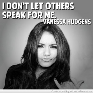 Vanessa Hudgens Actual Quote She Posted On Facebook A While Ago ...