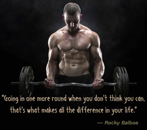 Rocky Balboa Inspiring Quote