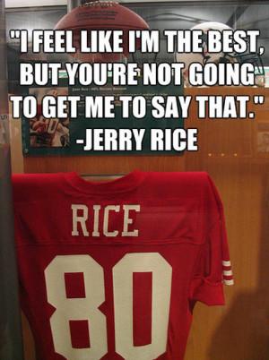 Jerry Rice's quote #5