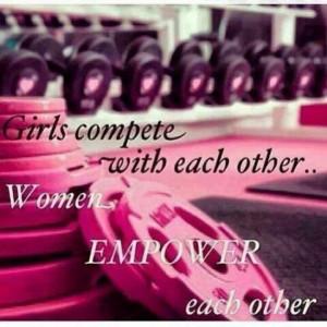 Women empower each other