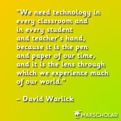 Quotes Technology, Education Quotes