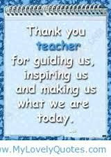 Thank You Quotes For Secretaries Thank you teacher quotes