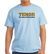 Tenor Singer Attitude Light T-Shirt for