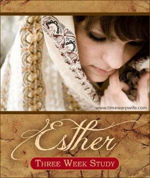 ... , 2012, I'll be presenting a three-week study on the book of Esther