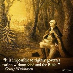George Washington never said this. http://www.religioustolerance.org ...