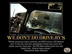 When attacking truck convoys, do NOT attack a US Marine unit. If you ...