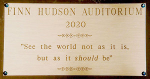 Finn Hudson Auditorium, Glee Quote