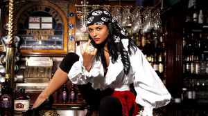 Seductive Pirate Wench Wallpapers