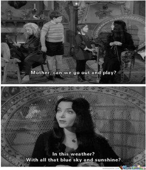 Anyone Else A Fan Of The Addams Family?