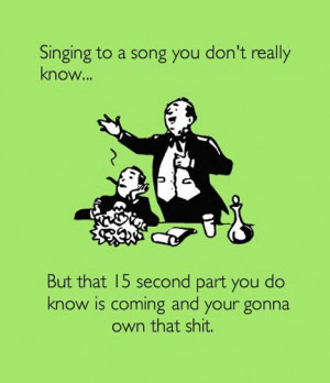 Singing to a Song You Don't Know