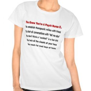 Funny Psych Nurse T-Shirt