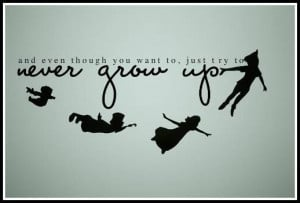 Peter Pan Quotes About Growing Up..