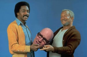 Sanford And Son Stole Bald Decapitated Head