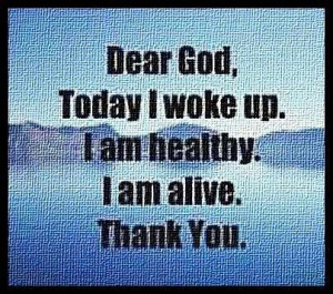 Thank God everyday for a new day!!!