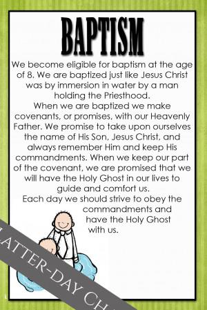 am a Mormon: Baptism
