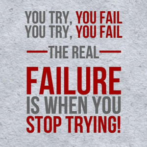 If i had permitted my failures failure quote