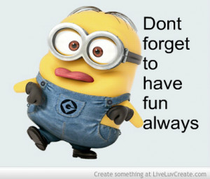 Funny Minion Quotes Exercise. QuotesGram