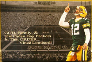 God Family and the Green Bay Packers | Get inspired.