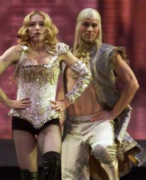 Zach Woodlee pic Madonna