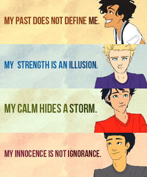 ... good, and the fan art is so amazing! Enjoy these Percy Jackson quotes