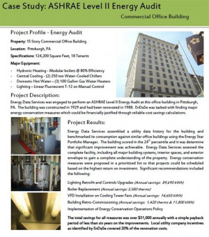 For questions or quotes on Energy Auditing services, please contact ...