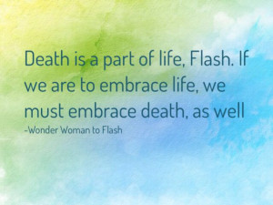 Awesome wonder woman quote