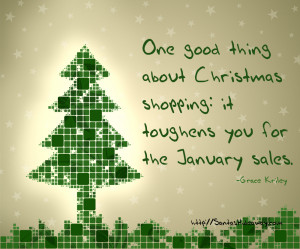 Funny Christmas Quote - Grace Kriley