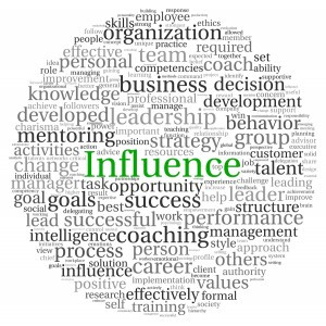 Influencers Use Positive Leadership