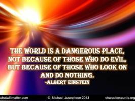 Dangerous Place Quotes