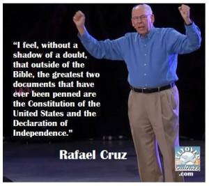 quote by Rafael Cruz, father of Senator Ted Cruz