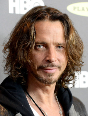 Chris Cornell Musician Chris Cornell arrives at the 28th Annual Rock ...