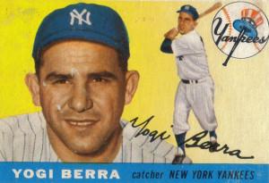 Yogi Berra and Yogi Bear
