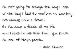 John Lennon quote - quotes Photo